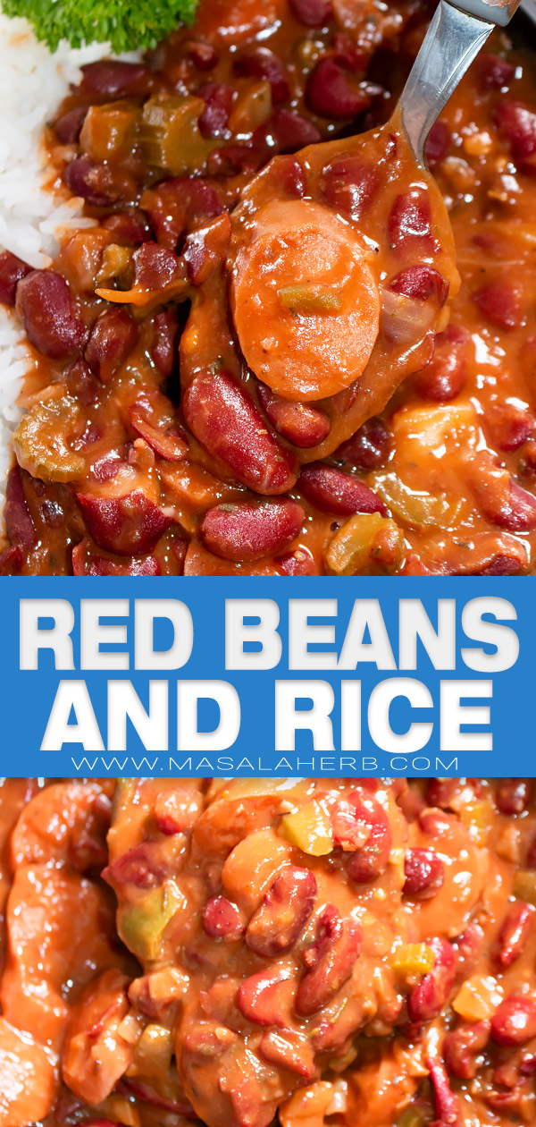 red beans and rice pin image