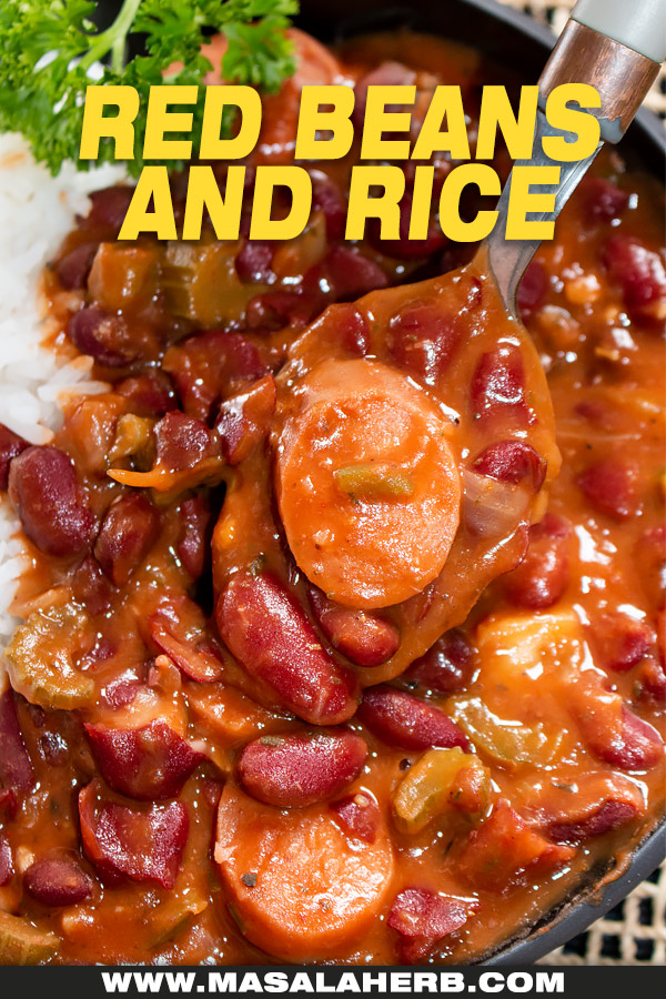 red beans and rice image