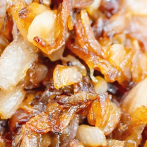image of caramelized onions