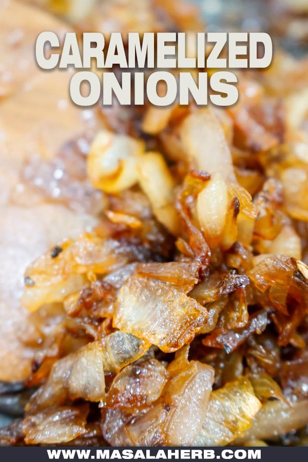 onions caramelized homemade