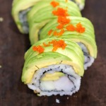 dragon roll with shrimp