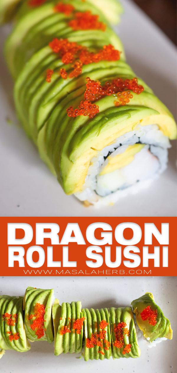 dragon roll pin image