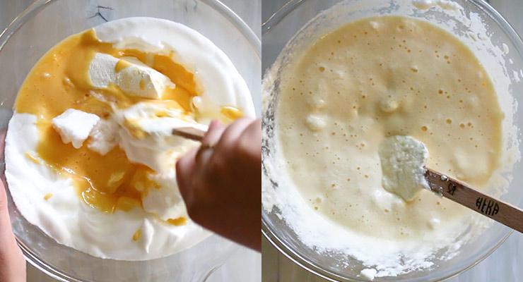 prepare mascarpone layer for the tiramisu