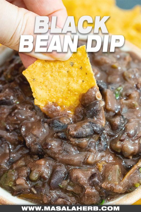 Spicy Black Bean Dip Recipe picture