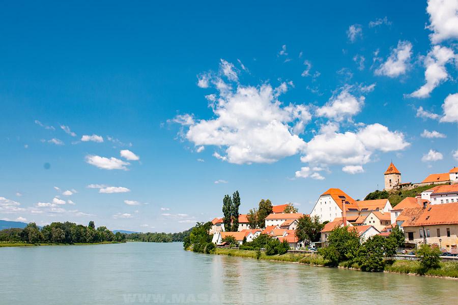 ptuj town by the river