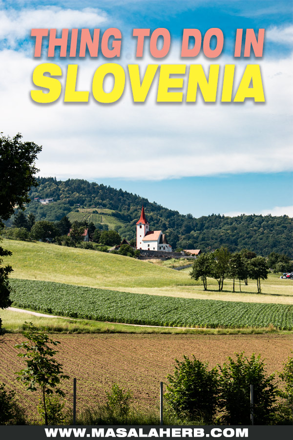 Things to see in Slovenia (Europe) pin image