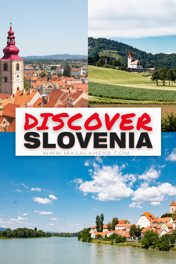 Things to see in Slovenia (Europe) collage