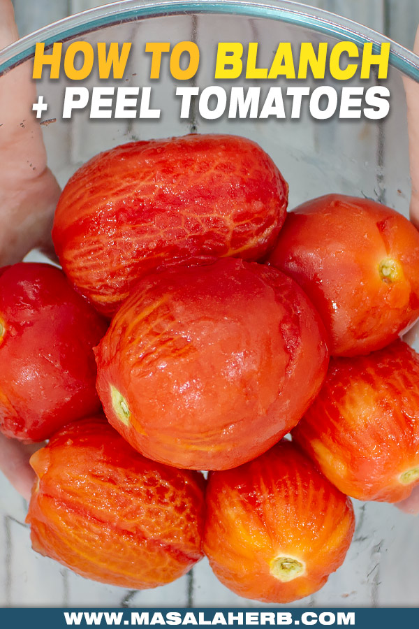 guide to peeled tomatoes image