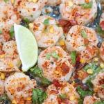 spicy sautéed red chili pepper shrimp