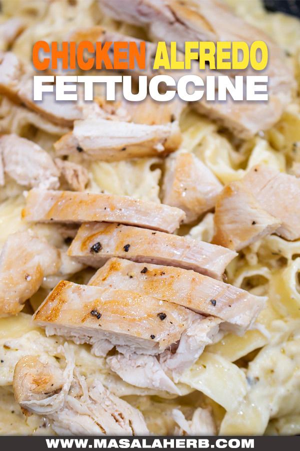 Chicken Alfredo Fettuccine Recipe photo