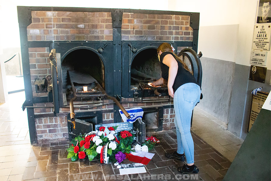 cremation oven of Mauthausen