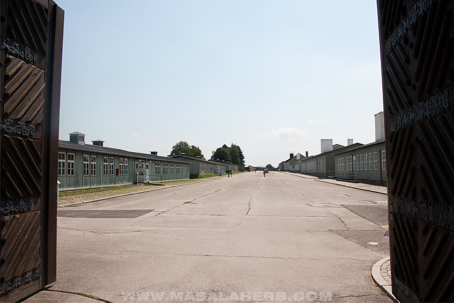 Gate entry of Mauthausen camp