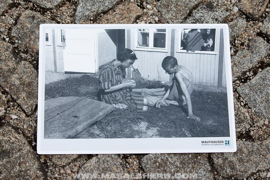 picture of female prisoners Mauthausen Austria
