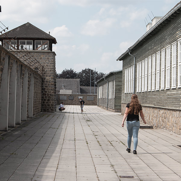 Mauthausen concentration camp picture