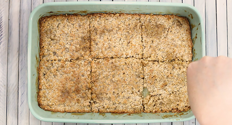 bake and cut baked oatmeal