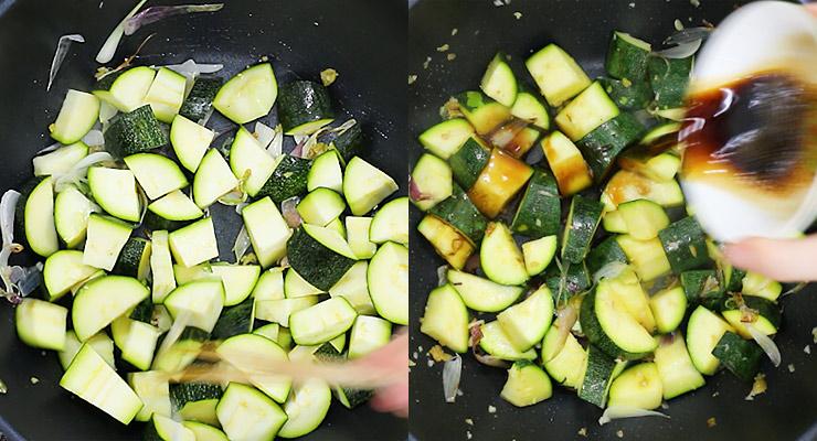 stir fry zucchini