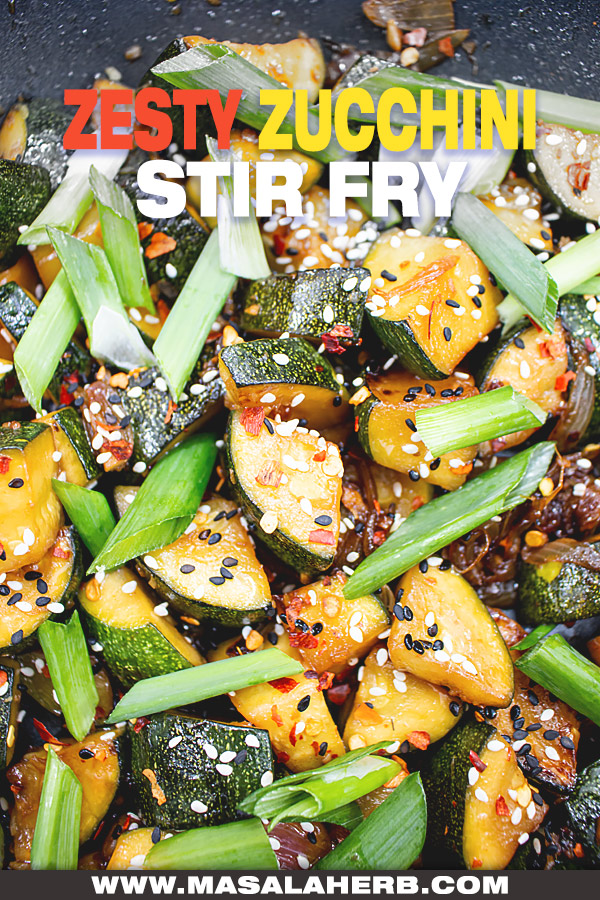 Zesty Zucchini Stir Fry Recipe image