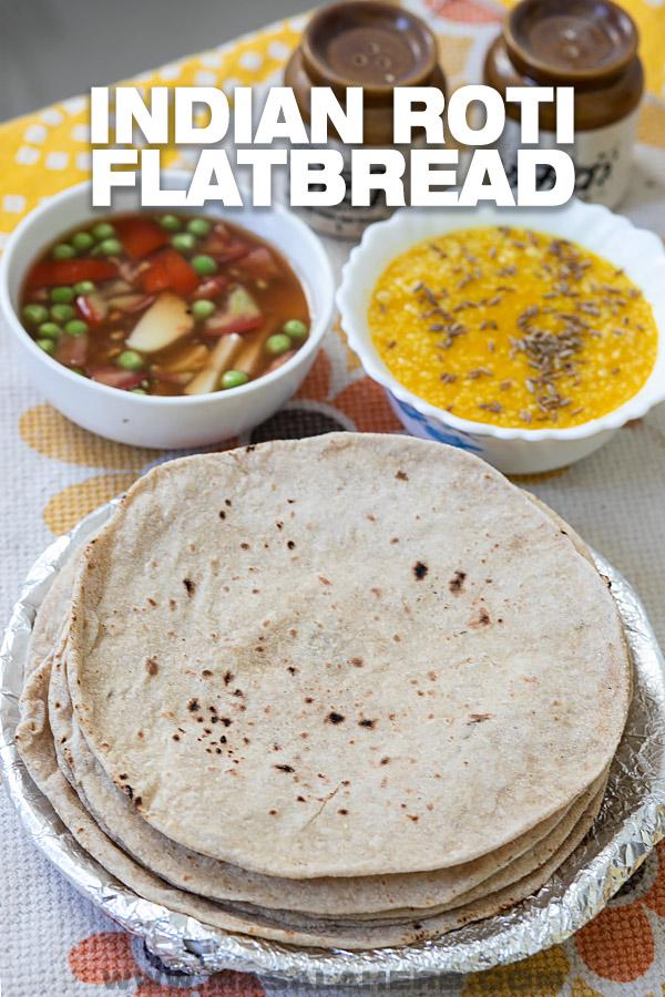 Indian Roti Flatbread Recipe image