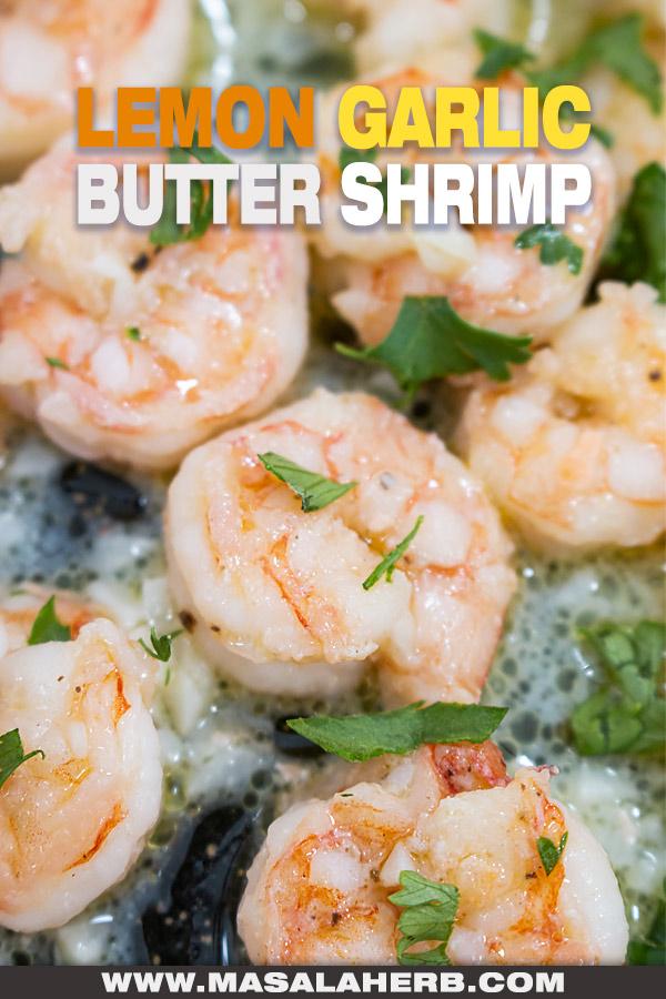 Lemon Garlic Butter Shrimp Recipe post picture
