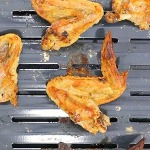 super crispy wings on a pan