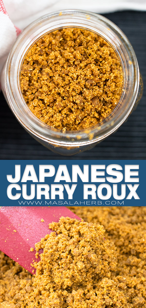 Japanese Curry Roux Recipe pin image