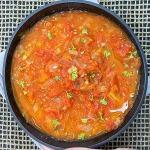 tomatoes stewed ina bowl