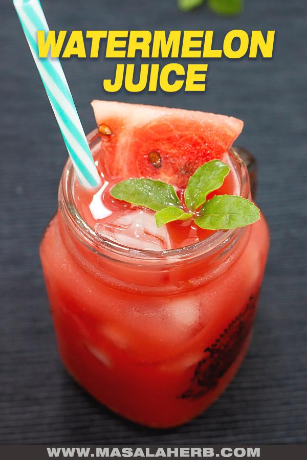 Fresh Watermelon Juice post picture