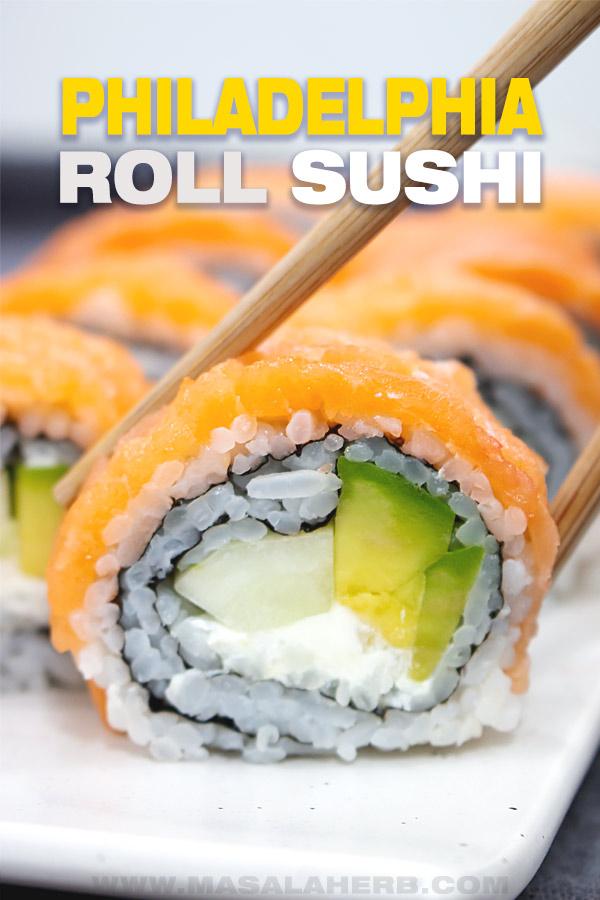 philadelphia roll sushi picture cover