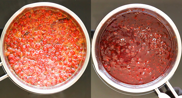 cook down red currant chutney