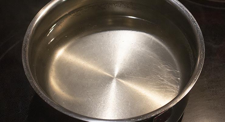 dissolve sugar in water