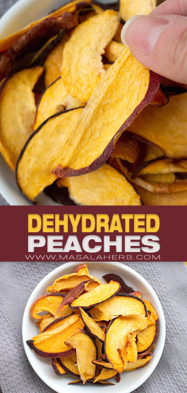Dehydrated Peach pin image