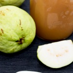 Guava Jam and guava fruit