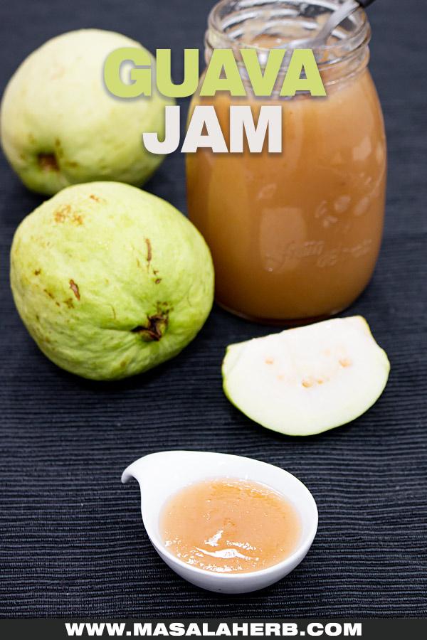 Guava Jam Recipe cover picture