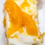 Peach Tiramisu Recipe close up