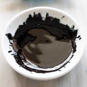 black food dye