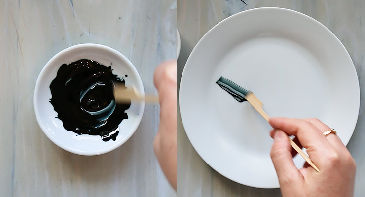 mix food colors to black