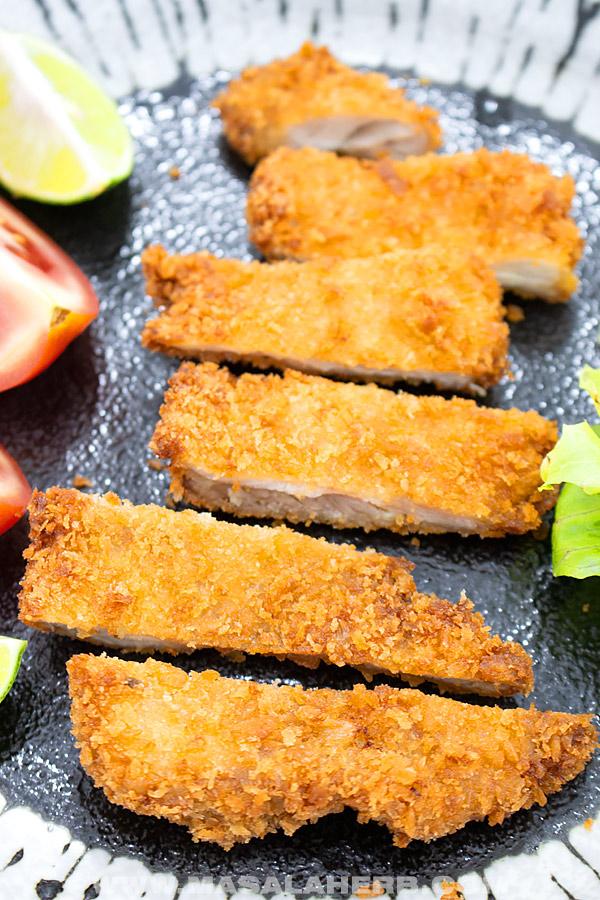 fried Japanese chicken strips