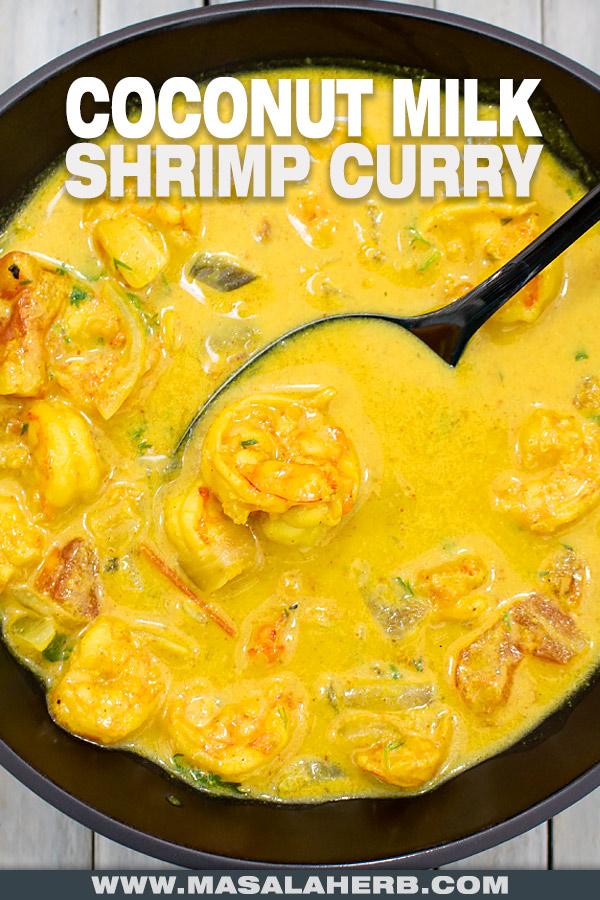 Coconut Milk Shrimp Curry Recipe cover picture