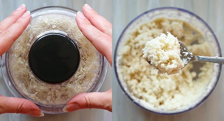grind horseradish