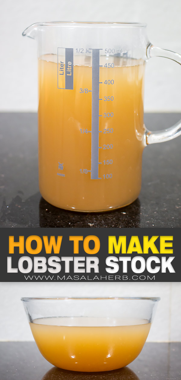 Homemade Lobster Stock pin image