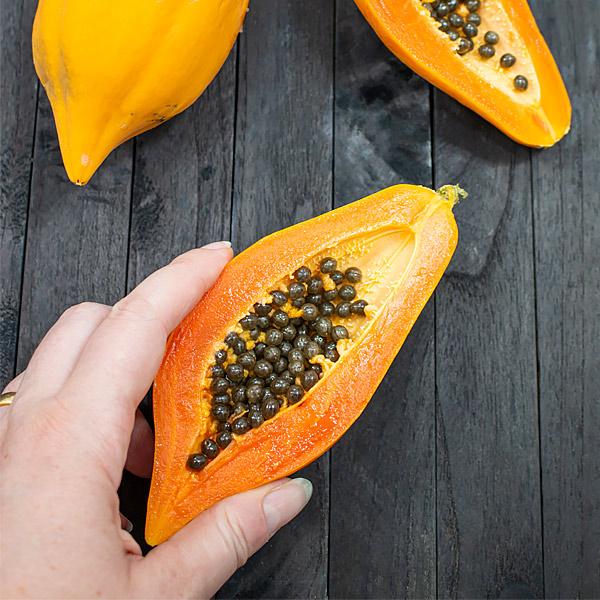 papaya fruit small