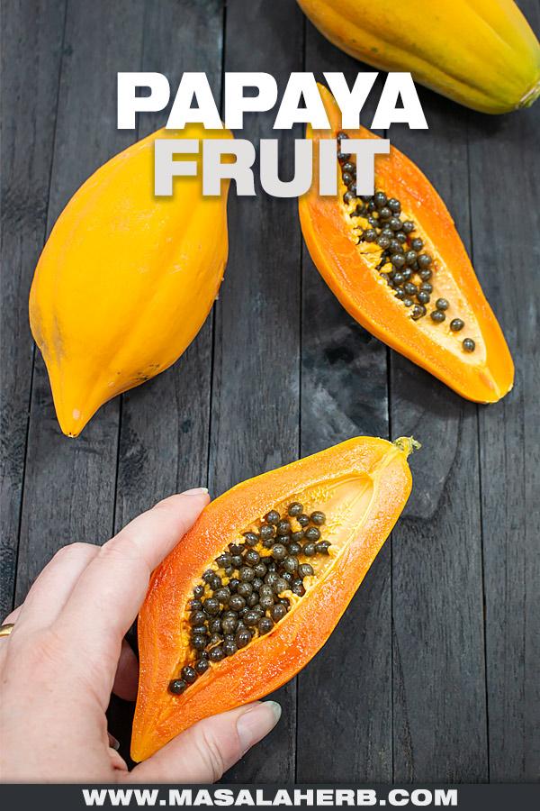 Papaya Fruit pin image