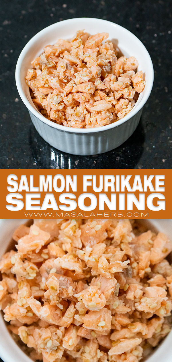 Salmon Furikake Seasoning pin image