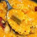 sambar with okra