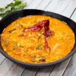 spiced sambar dinner meal