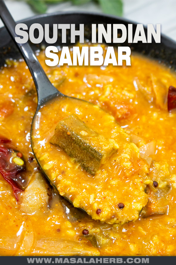 South Indian Sambar Recipe cover picture