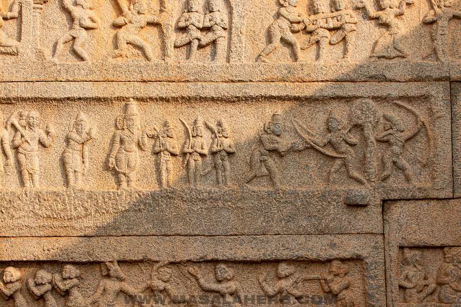 picture of hampi wall