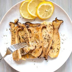 Lemon Thyme King Oyster Mushroom