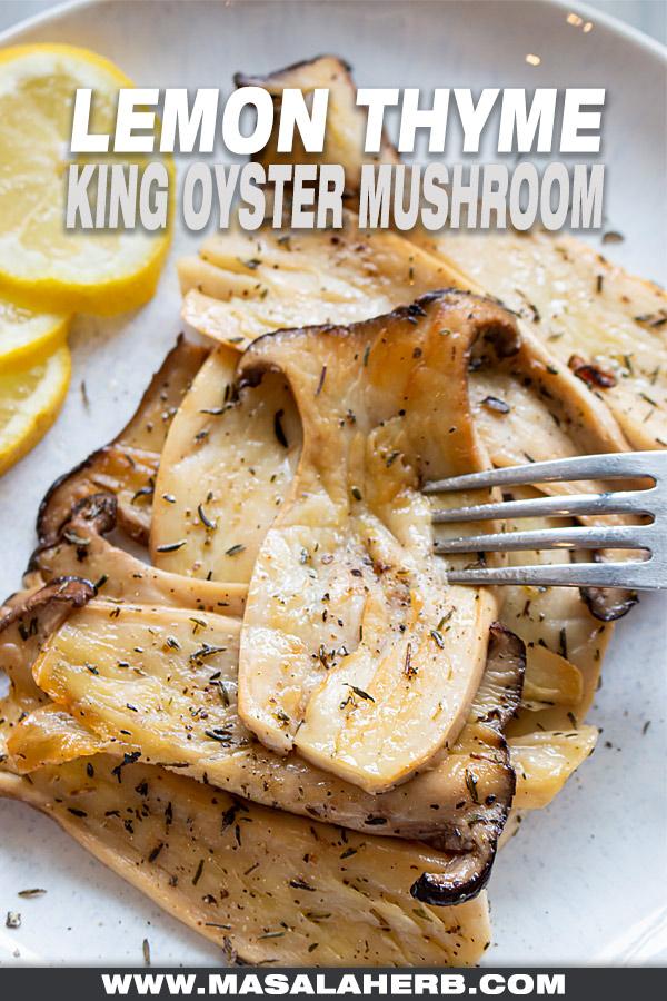 Lemon Thyme King Oyster Mushroom cover picture